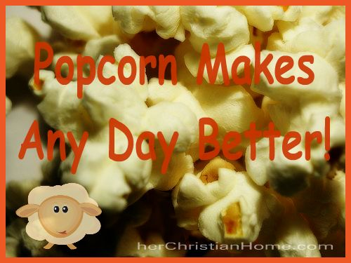 popcorn makes any day better, seasoning recipes, ideas