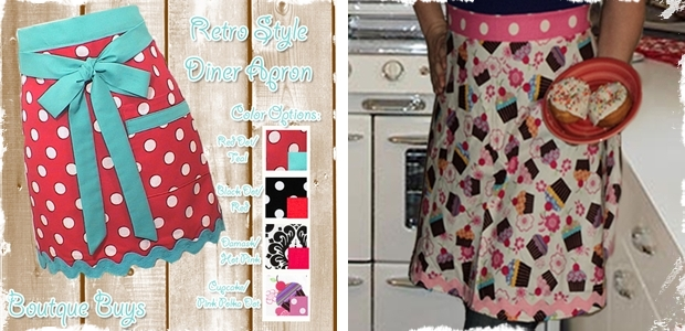 Retro-style-diner-aprons