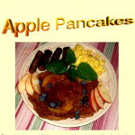 Homemade Apple Pancakes  Step by Step Recipe