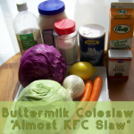 Buttermilk Coleslaw Recipe – Almost like KFC!