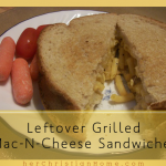 Leftover Grilled Mac-N-Cheese Sandwiches – Fast Fixin' Recipes