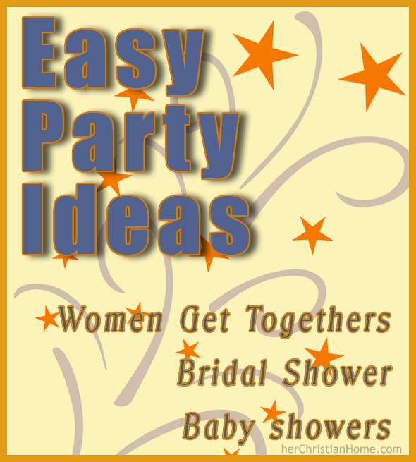 Easy-Party-Ideas-Women-Bridal-Baby-Showers