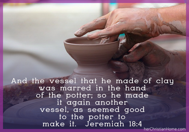 Bible Verse Image with Jeremiah 18:4 KJV