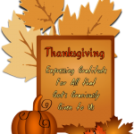 A Thanksgiving Poem – My Thanks Dear Lord are Thine!