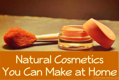 how to make your own cosmetics at home