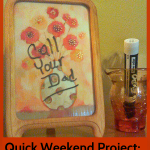Quick Weekend Projects:  DIY Desk Memo Board