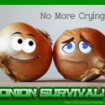 How to Cut an Onion Without Crying –  No More Tears, Please!