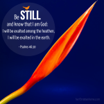 How to Be Still and Take Time to Know God