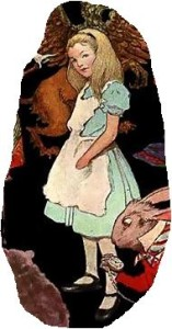 Alice in Wonderland snippit