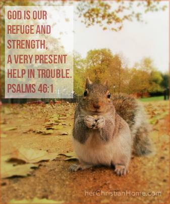 God is our refuge and strengths Psalms 46:1 kjv #psalms #strength