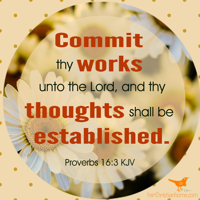 Commit Proverbs 16 3