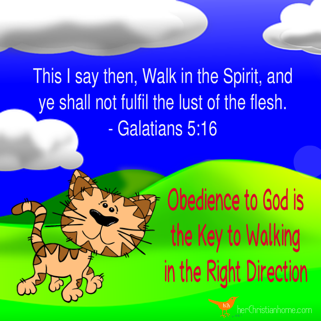 Walk in the Spirit - Galatians 5 16