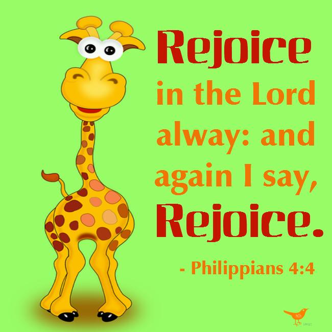Rejoice Philippians 4 4 b