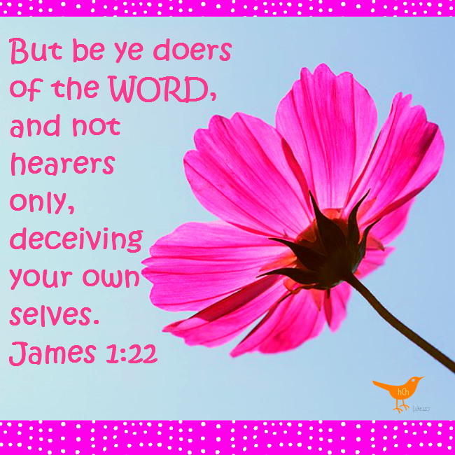 Doers of the Word James 1 22