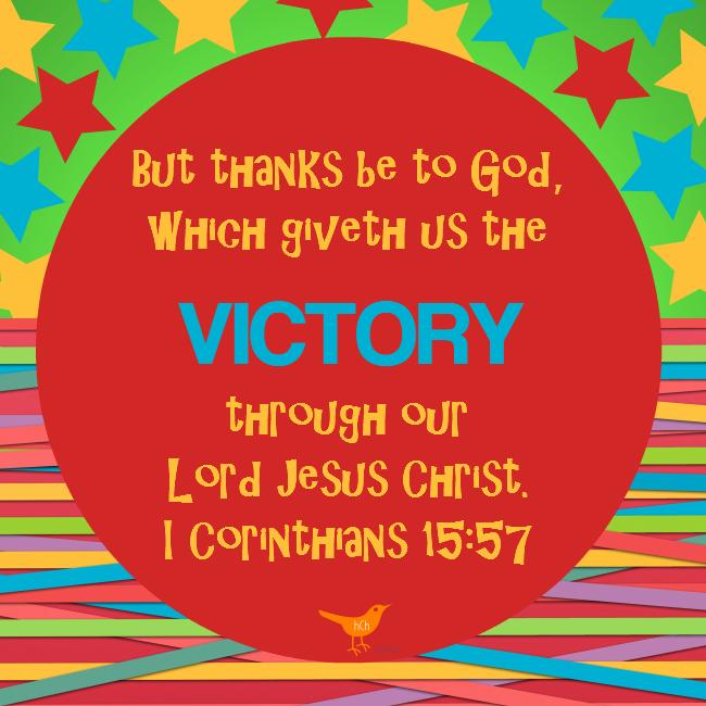 Victory - I Corinthians 15 57