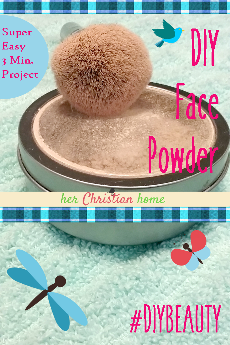 Super Easy 3 Minute Project - DIY Face Powder #diybeauty #diymakeup