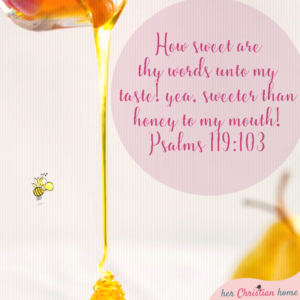 How sweet are thy words Psalms 119 103 kjv #bibleverses #womensdevotionals #psalms