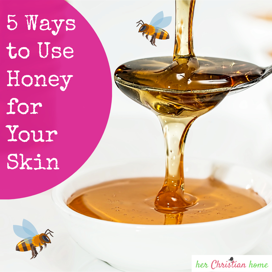 5 ways to use honey for your skin #honeytips #naturalskincare