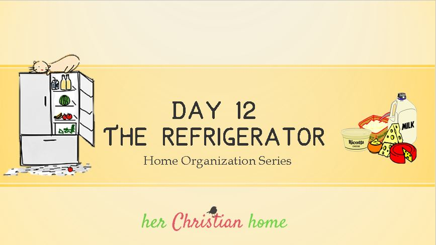 home organization series #getorganized #cleanthefridge