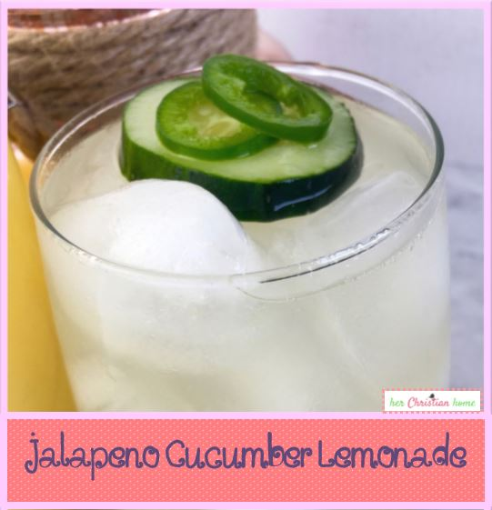 jalepeno cucumber lemonade #spicydrink #beverages