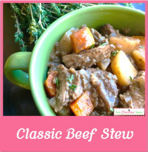 Classic Beef Stew Recipe #recipes #beefstew #soups