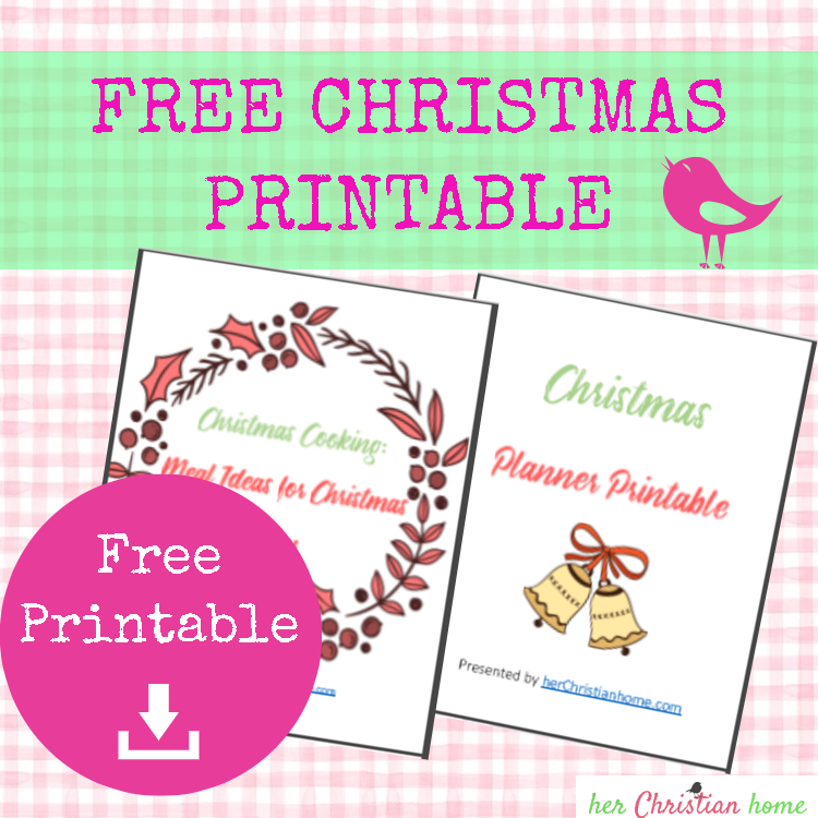 Free Christmas Printable Planner Available for Members