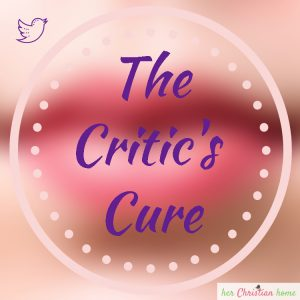 the critics cure - review on character book