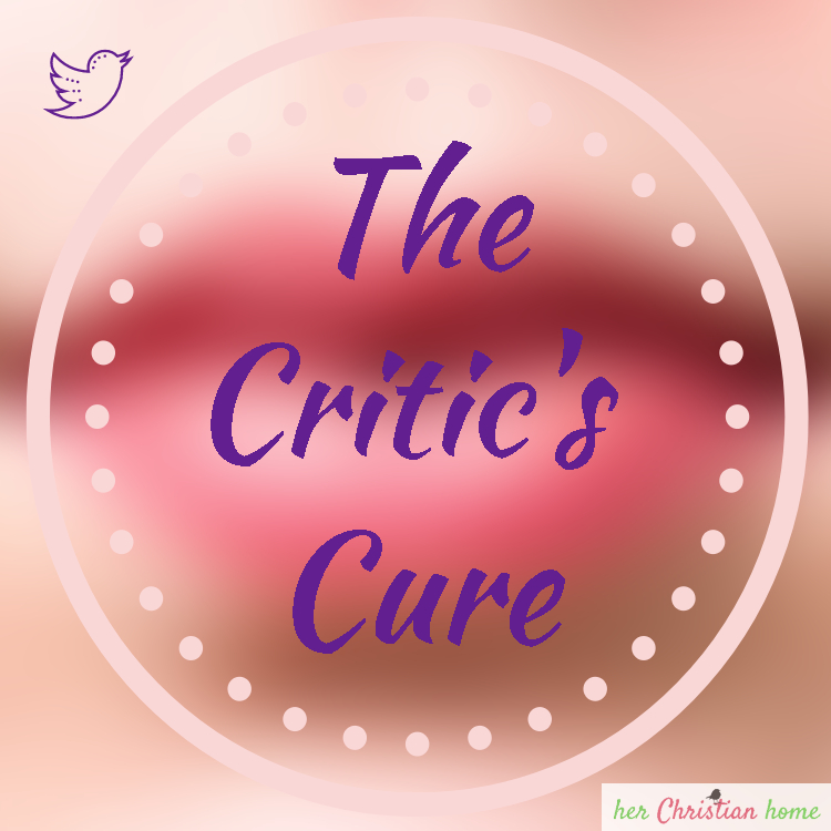 The Critic's Cure and my book review on Character