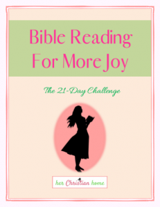 21 Day Bible Reading Challenge Curriculum