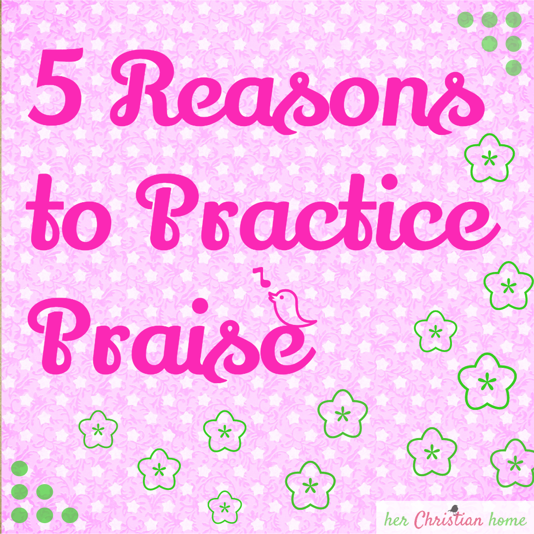 Day 17 – 5 Reasons to Practice Praise