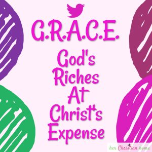 Acronym for Grace #acronym #grace