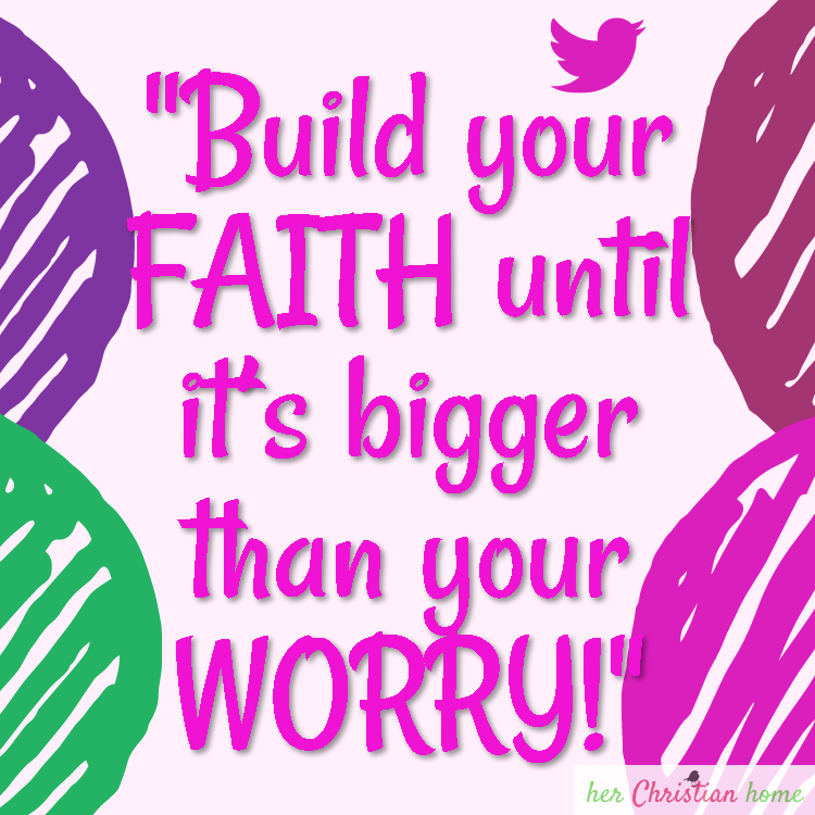 Build Your Faith Quote #faith #quote #worry