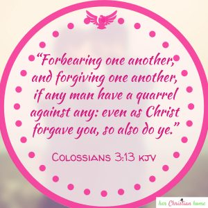 Forbearing one another forgiving Colossians 3:13 kjv #bibleverses #forgiving