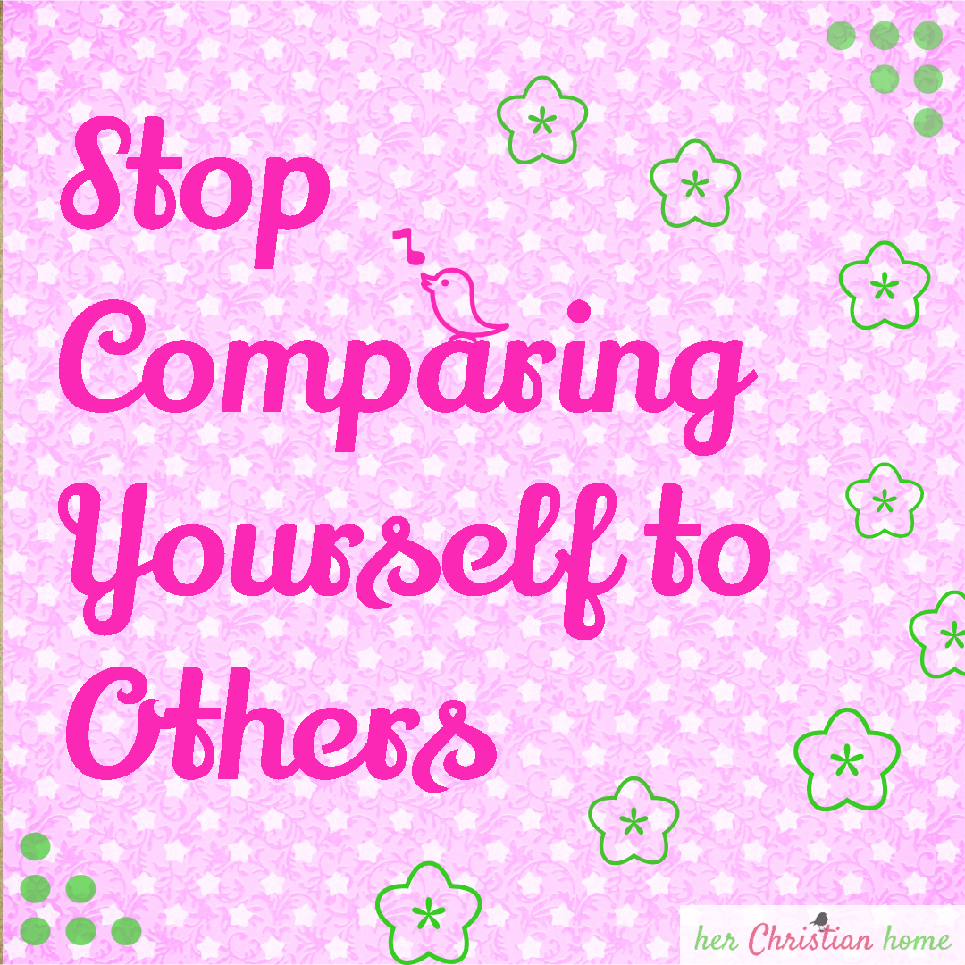 Day 12 – Stop Comparing Yourself to Others