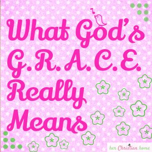 What God's Grace Really Means #grace #christianity #devotional