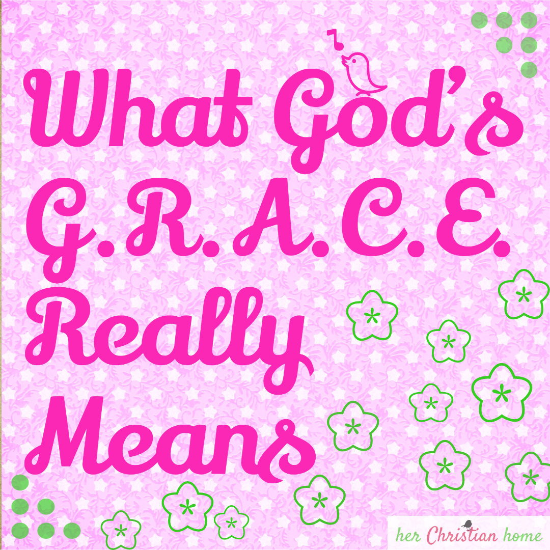 Day 18 – What God's Grace Really Means