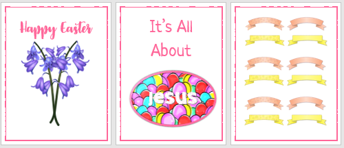 Free Easter Printable -Happy Easter