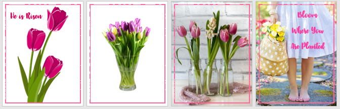 Free Easter Printable - Tulips