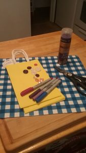 Upcycled DIY Gift Bags Supplies