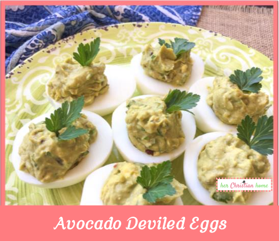 Avocado deviled eggs recipe #avocado #eggrecipes