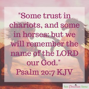 But we will remember the name of the Lord our God Psalm 20:7 #bibleverse