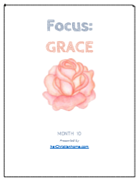 Bible memory verses about grace