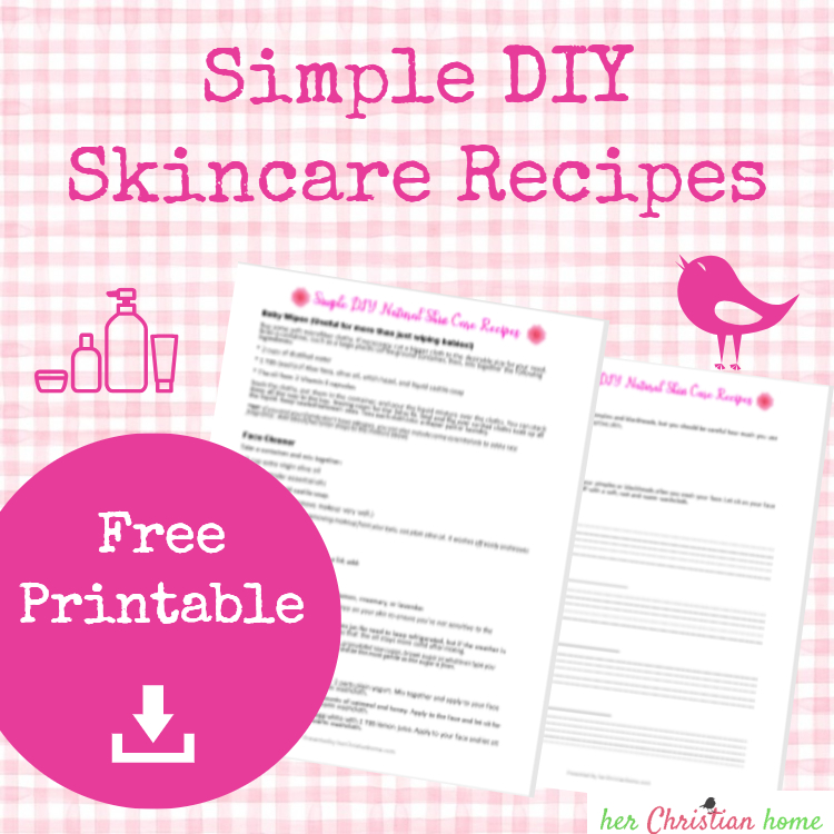 Simple DIY Skincare recipes