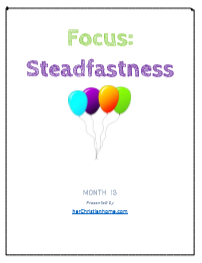 Bible Memory Verses on Steadfastness