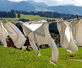 air-dry your laundry
