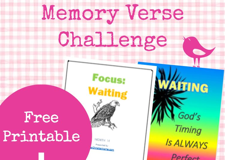 Bible Memory Verse Challenge - Topic: Waiting