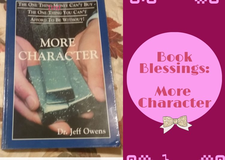 More Character - christian book reviews
