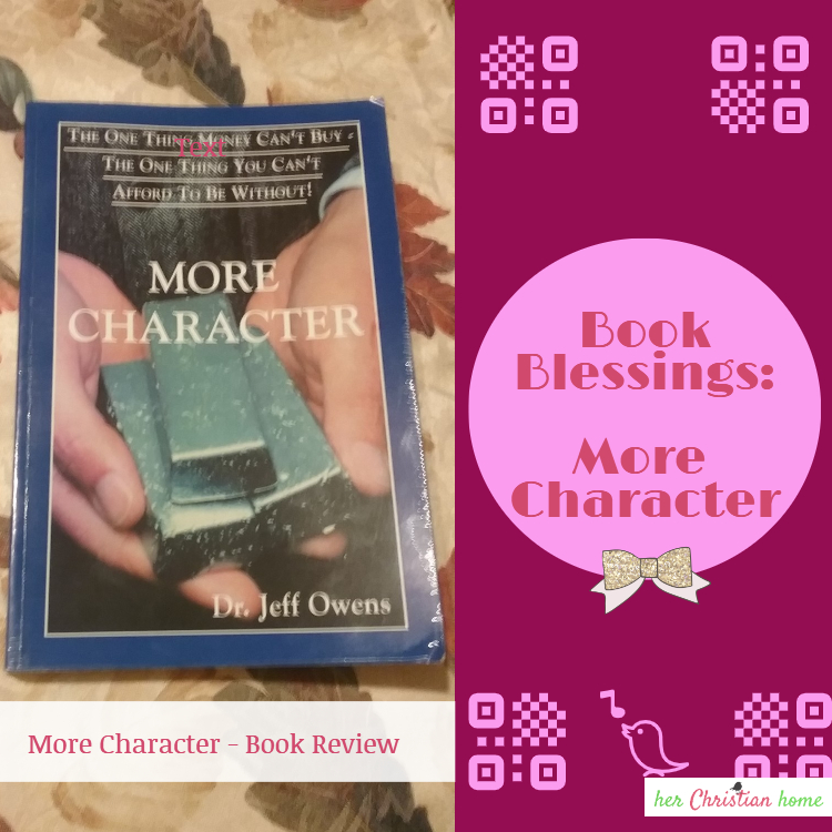 More Character – Book Blessings Book Review