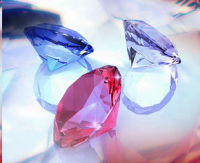 rubies and gems