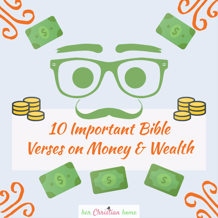featured image 10 important bible verses on money and wealth